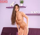 Lia Taylor fingering herself on the couch 12