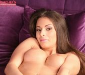 Lia Taylor fingering herself on the couch 16