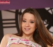 Cute teen Taissia spreading her pussy 5
