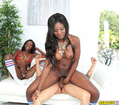 Kay Love, Destinee Jackson - Booty Bargain - Round And Brown 10