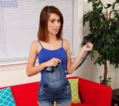 Joseline Kelly getting naked on the couch 4