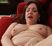 Chubby Ember Rayne playing with her vibe 14