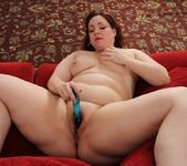 Chubby Ember Rayne playing with her vibe 15