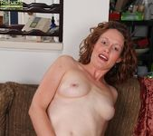 Ajia Simpson - mature playing with her vibrator 17