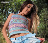 Lorena Garcia outdoors dildo 4
