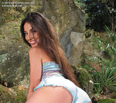 Lorena Garcia outdoors dildo 7