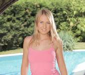 Milana Blanc - poolside naked awesomeness 3