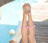 Milana Blanc - poolside naked awesomeness 12