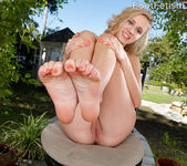 Rachel James Exposes Her Feet and Gets a Cock-Filled Pussy 3