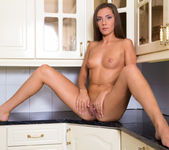 Quenna - naked kitchen frolic 6