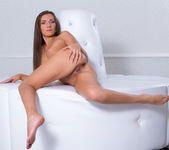 Quenna spreading her pussy - Nubiles 19