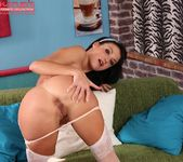 Penelope - stockings & fingers in her pussy 10