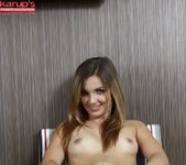 Linda Blink - amateur touching herself 16