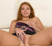 Brandi - spreading and touching her pussy 6
