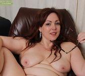 Ember Rayne - chubby milf spreading her ass 14
