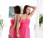 Anabella - pink dress & big teeny boobs 5