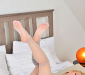 Candy Sweet - stockings in bed 14