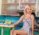 Milana Little kitchen vibrator play 3