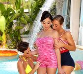 Abigail Mac, Ariana Marie, Nicole Aniston - Poolside Pin-Ups 2