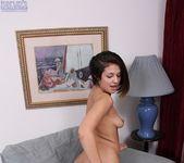 Moana Saxton - spreading her hairy pussy 12