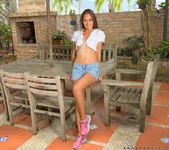 Anastassia Delgado - outdoor masturbation 3