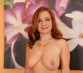 Jessica Red - busty milf gets undressed 16