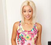 Ivy Stone - Teen blonde fingering herself 2