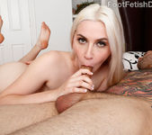 Niki Snow Strokes Cock with Her Cute Toes 12