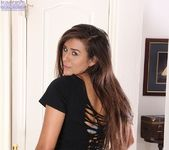 Niki Porter - brunette taking off her clothes 2