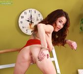Brandy Lee - tattoo milf in a red dress 18