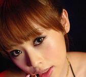 Miina Yoshihara Japanese model like sucking her guy's cock 9