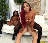 Jazzi, Mya Mays - Ass Sandwich - Round And Brown 11