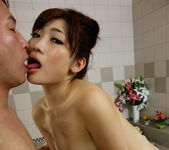 Karin Kusunoki fucked hard after sublime blowjob 7