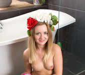 Nicola - undressing for a bath 11