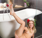 Nicola - undressing for a bath 14