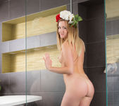 Nicola - undressing for a bath 20