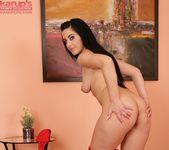 Alex Black - black haired teen getting naked 14