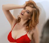 Lottii Rose - Red Bra - Spinchix 3