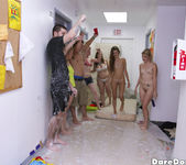 Olivia Kasady, Alex Mae - Slip And Slide - Dare Dorm 3