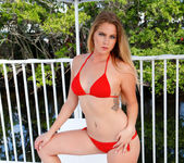 Lilly Sapphire - lounging on the balcony 10