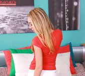 Nicol - blonde amateur teen loves her vibrator 2