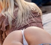 Niki Lee Young Can Barely Be Contained In Her Small Jacket 14