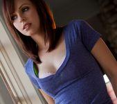 Hayden Winters Removes Her Pink Bra And Panties 7