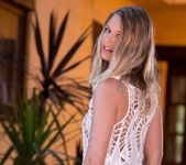 Lacy Johnson Wears A Sexy Revealing Dress 10