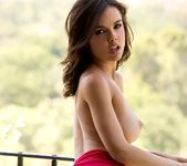 Dillion Harper In Her Tiny Red Dress 6