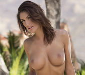 August Ames Takes Off Her Clothes In The Warm Outdoors 15