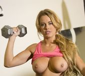 Corinna Blake Has A Nice Workout 3