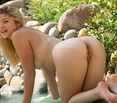 Ellery Corrin Lounges By The Pool 10