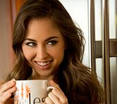 Riley Reid Sips Her Morning Tea 11