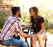 Daniel Hunter & Keisha Grey Share A Romantic Evening 10